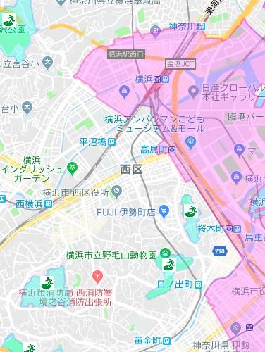 区 横浜 ハザード マップ 市 鶴見