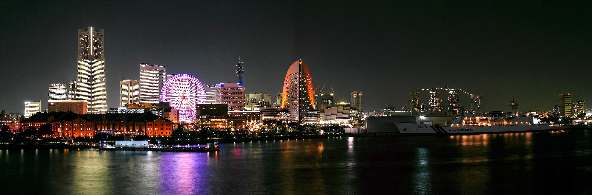 Minatomirai Night View